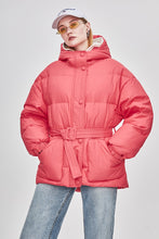 Women's Rosie Down Puffy Jacket With Belt