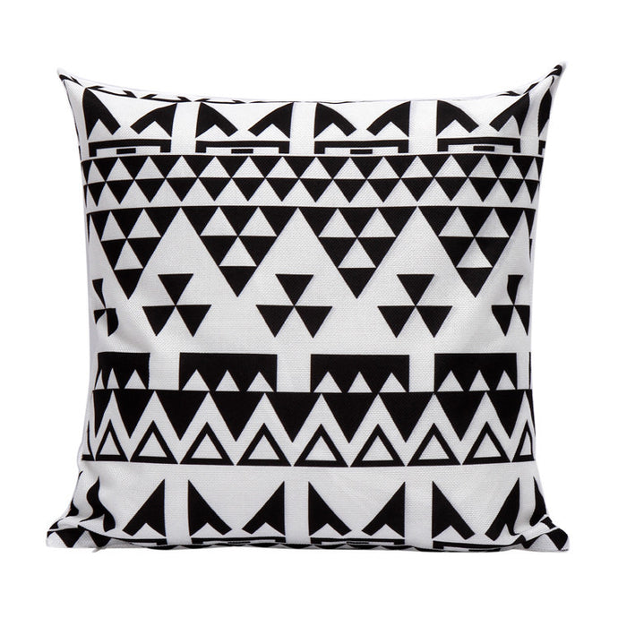 Geometric Decorative Throw Pillow Cover