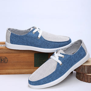 Men's Breezy Canvas Loafer Slip-On Shoes