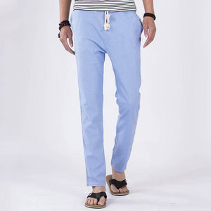 Men's Loose Linen Pants