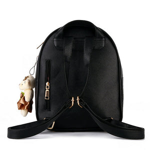Two In One Women's Backpack and Coin Wallet