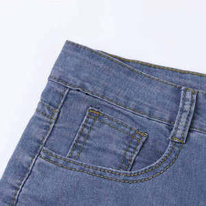 High Waisted Slim Thick Jeans