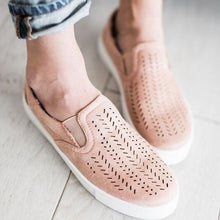 Pinks Suede Slip-on
