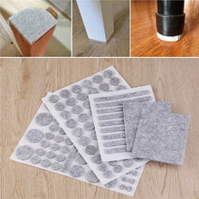 Furniture Floor Protector Felt Pads 132 Piece