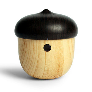 Go NUTS Outdoor Rechargeable Mini Wooden Wireless Speaker