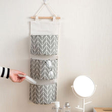 Chevron Hanging Storage Bag Organizer