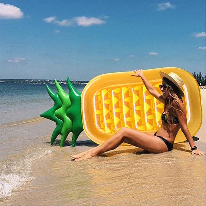 Giant Inflatable Pineapple Sun Floaty
