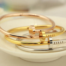 Right On The Nail Bangle Bracelet - 1 pc.