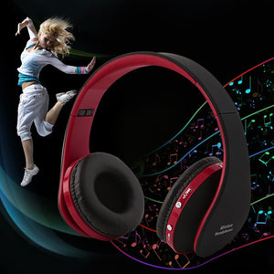 Foldable Wireless Bluetooth Headphones