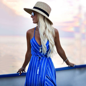 Sail Away Maxi Cocktail Dress