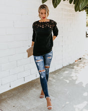 Knit Long Sleeve Sweater