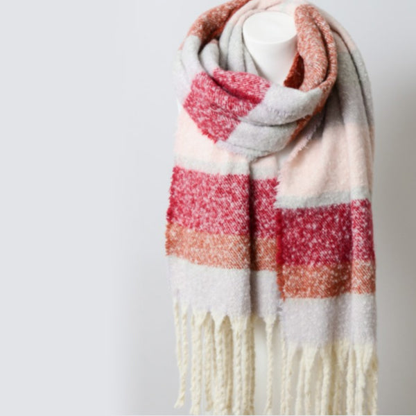Just for Me Oversized Chunky Tassel Scarf