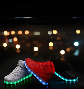 New Led fashion Shoes with remote control