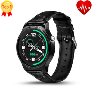 Bluetooth Smart Watch IPS Round Screen Life Waterproof For Android and IOS