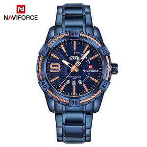NAVIFORCE Fashion Casual Brand Waterproof Quartz Watch