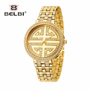 2018 Brand new Fashion Gold Watch