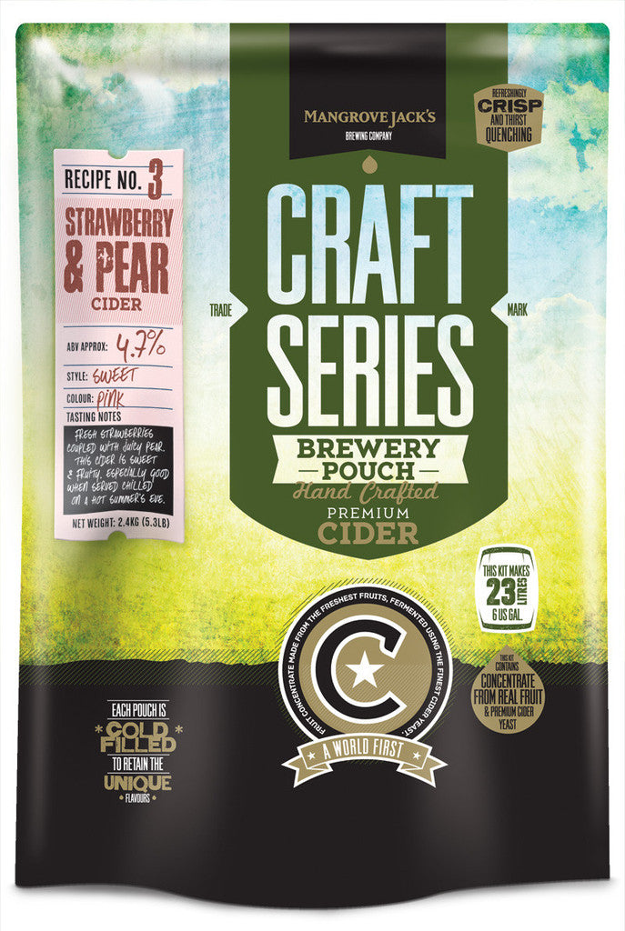 Strawberry & Pear Cider -  Craft Series