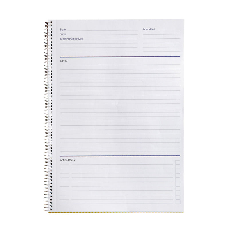Spirax P703 Black Pp Meeting Book A4 140 Page