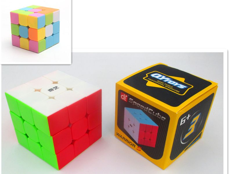 Magic Cube Puzzle - 5.7cm (Set of 6)