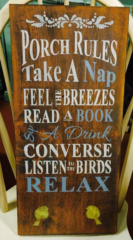 Traditional Barn Board Sign 12