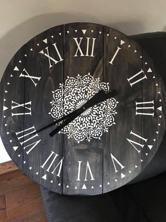 24 inch Round Clock private class