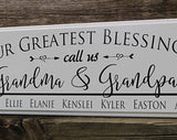 "Traditional Barn Board Sign  - 8"" x 28"" in length  CODE15"