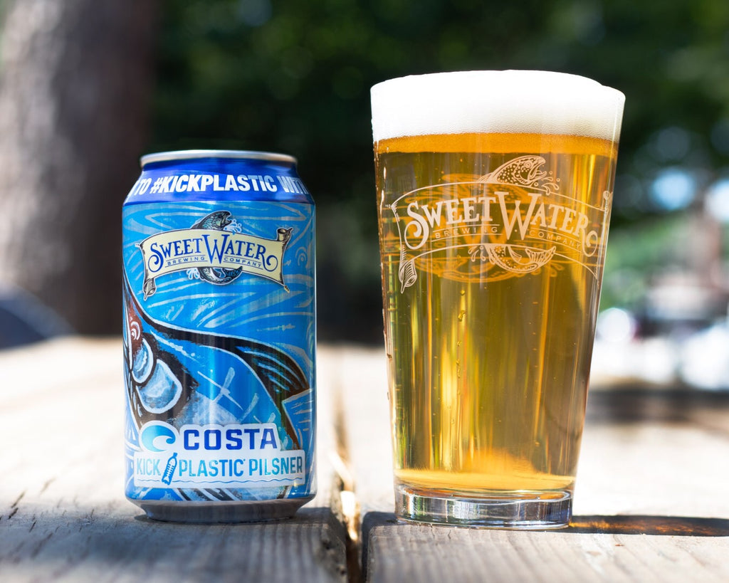 Kick Plastic Pilsner - Partnership w/ Sweetwater Brewing and Costa Sunglasses