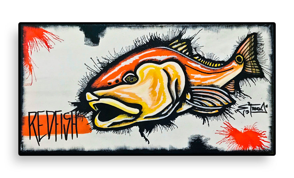 """Redfish Splatter"" is headed to the Florida Panhandle!"