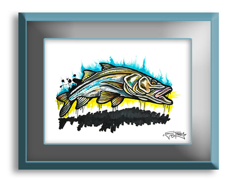 Backwater Snook - Print