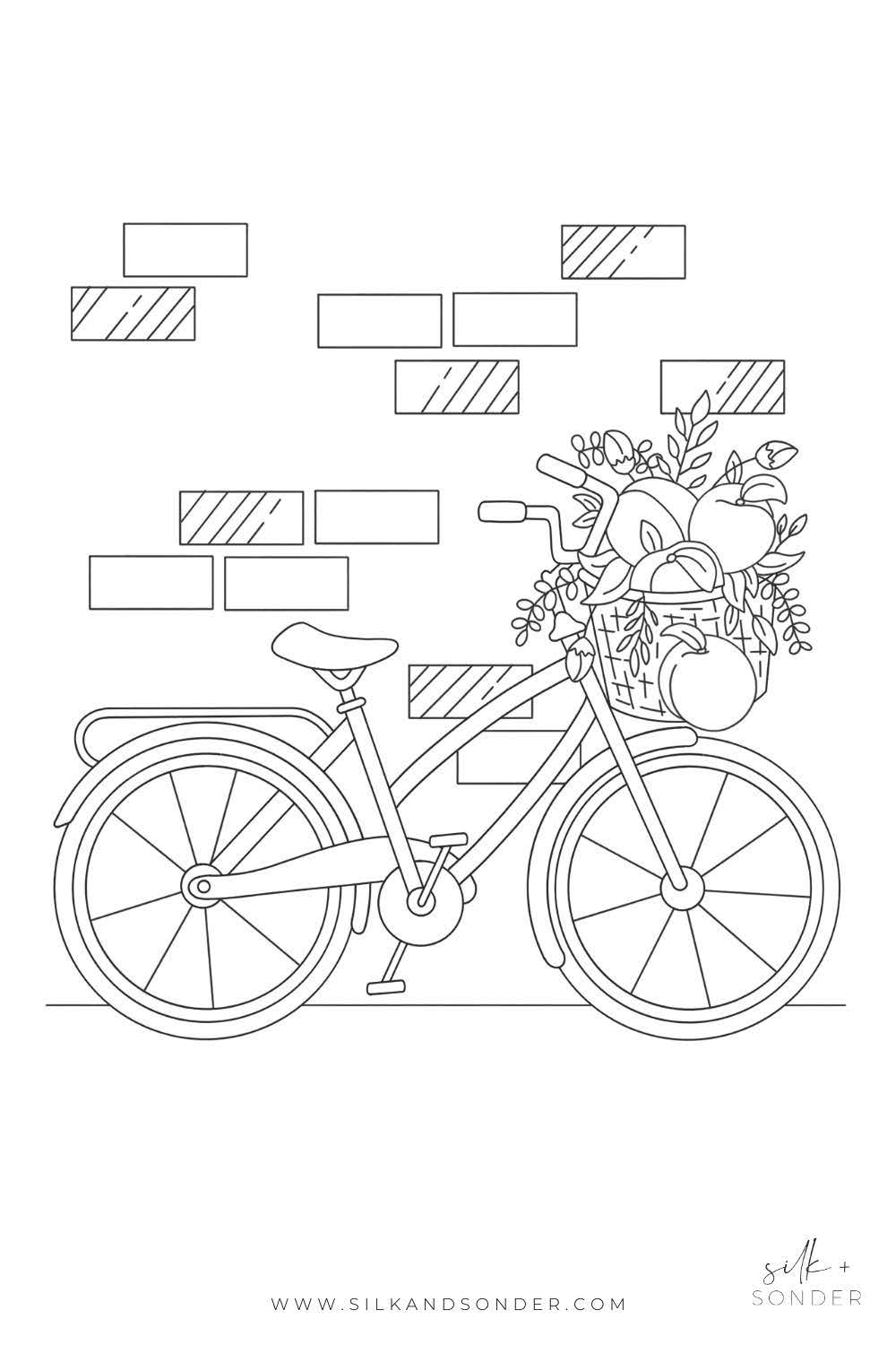 Adult-Coloring-Page-Bike