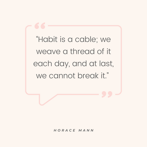 horace-mann-daily-habits-quote