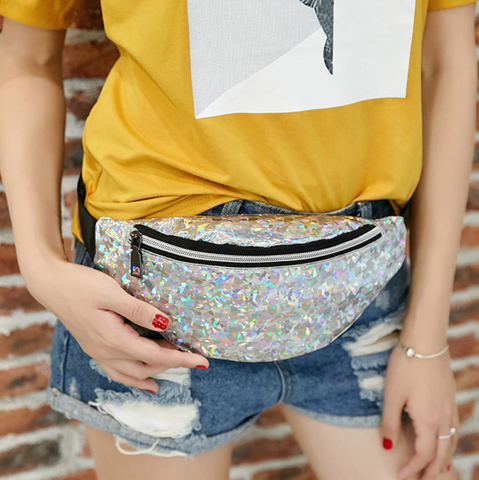 Hologram Travel Fanny Pack
