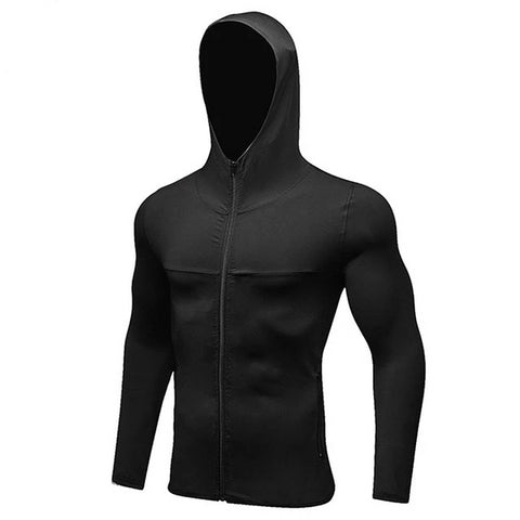 Fitted Fitness Hoodie