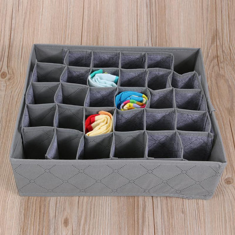 30 Cell Bamboo Storage Box