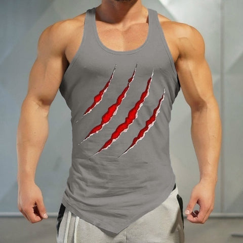 Claw Men's Muscle Tank Tops