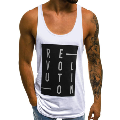 Letters Tank Tops