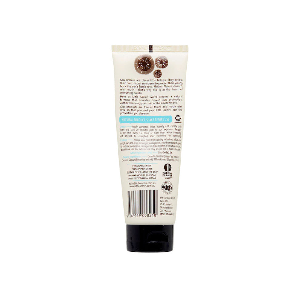 LITTLE URCHIN_ Natural Sunscreen  SPF 30+ 리틀어친 내츄럴 선스크린 SPF30 100g