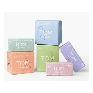 TOM ORGANIC_Maternity Pads Ultra Absorbent For Post Birth 12pads 톰 오가닉 산모 패드 울트라 흡수형 산후용 12개입