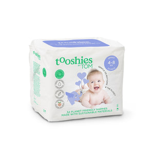 TOOSHIES_ Infant Nappies 4-8kg 투쉬즈 유아 기저귀 4-8kg 용