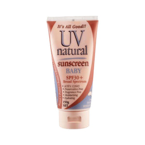 UV NATURAL_ Baby Sunscreen  SPF 30+ UV 내츄럴_ 베이비용 선스크린  SPF30+ 50g/ 150g