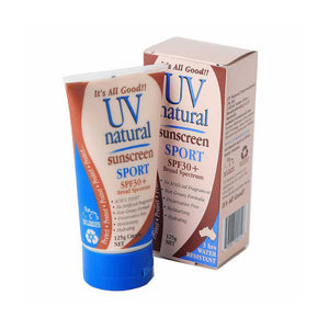 UV NATURAL_ Sports Sunscreen  SPF 30+ UV 내츄럴_ 스포츠용 선스크린  SPF30+ 125g