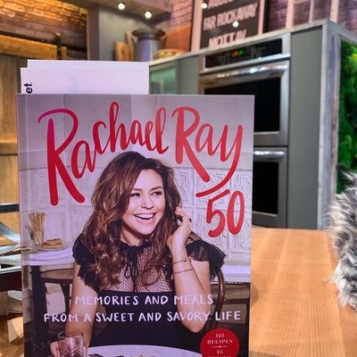 Rachael Ray Thanks Gwendolyn For Her Crumb Cakes On The Set Of 'The Rachael Ray Show'