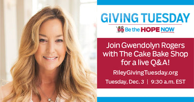 Giving Tuesday With Gwendolyn For Riley Children's Hospital