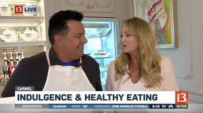 WTHR talks Indulgence & Healthy Eating