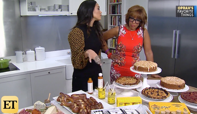 Gwendolyn's Crumb Cakes With Gayle King On Entertainment Tonight