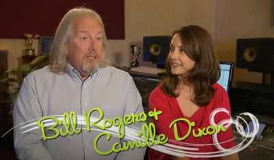 Bill Rogers & Camille Dixon-Voices of Disney, Are Also The Voices For The Cake Bake Shop!