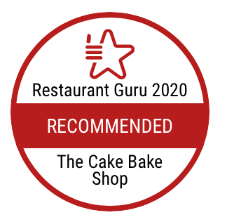 Cake Bake Shop Receives Certificate Award For Best Restaurant Recommend In 2020 From Restaurant Guru