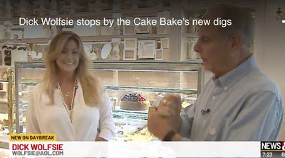 Dick Wolfsie stops by the Cake Bake's new digs