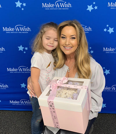 Gwendolyn Creates A 'Wishes' Cake For Her 'Make A Wish' Child, Marley