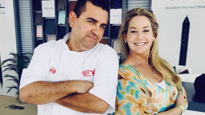 Gwendolyn with Buddy Valastro the 'Cake Boss'.